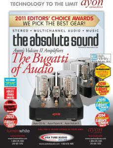 Ayon-Bugatti-of-Audio_TAS cover 2011