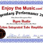 Ayon Enjoy The Music Performance Award 2020